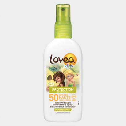 novaconcept lovea spf 50 disney kids cream spray