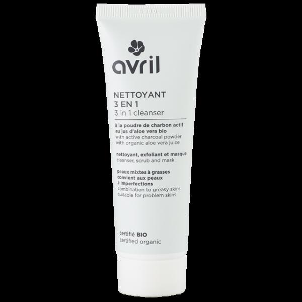 organic charcoal facial cleanser mask scrub cleanser.jpg e1605537664487