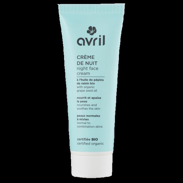 organic night cream normal mixed skin