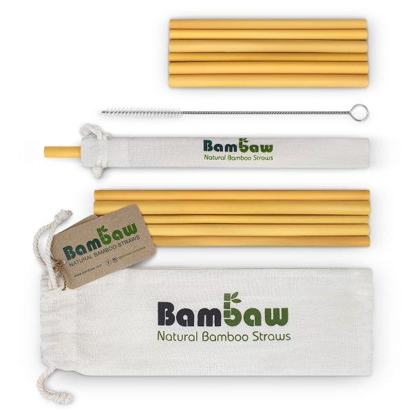 Bambaw Bamboo Straws 1 Packshot Pouch Mix 01