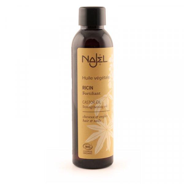 najel huile ricin certifie cosmos organic 80ml nouveau bouchon