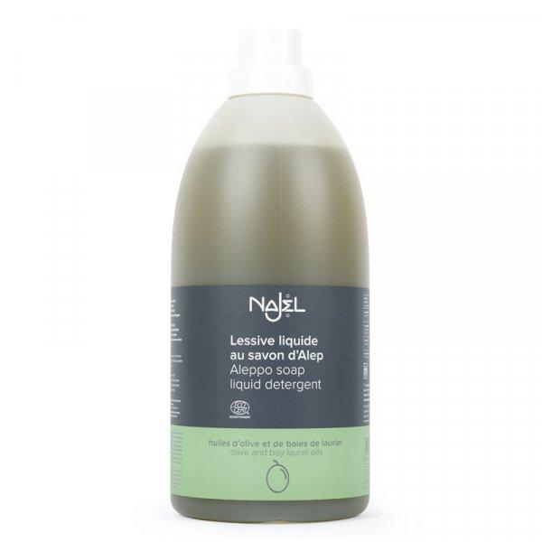 najel lessive liquide savon alep sans parfum ecodetergent