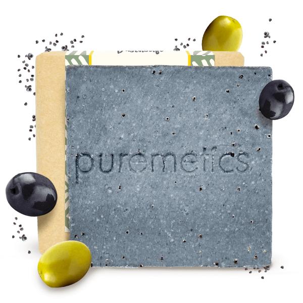 Puremetics Naturseife OliveMohn 0