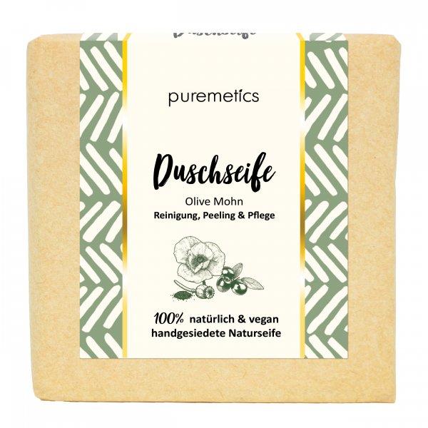 Puremetics Naturseife OliveMohn 02