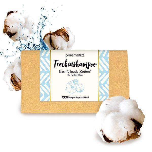 puremetics Trockenshampoo Cotton Nachfuller 02