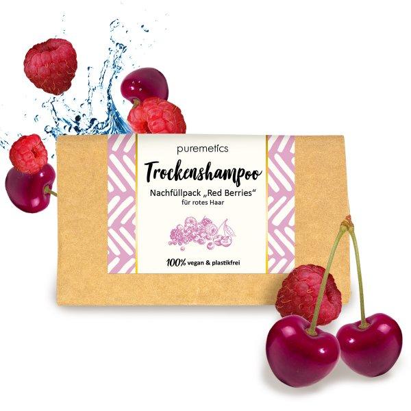 puremetics Trockenshampoo RedBerries Nachfuller 02