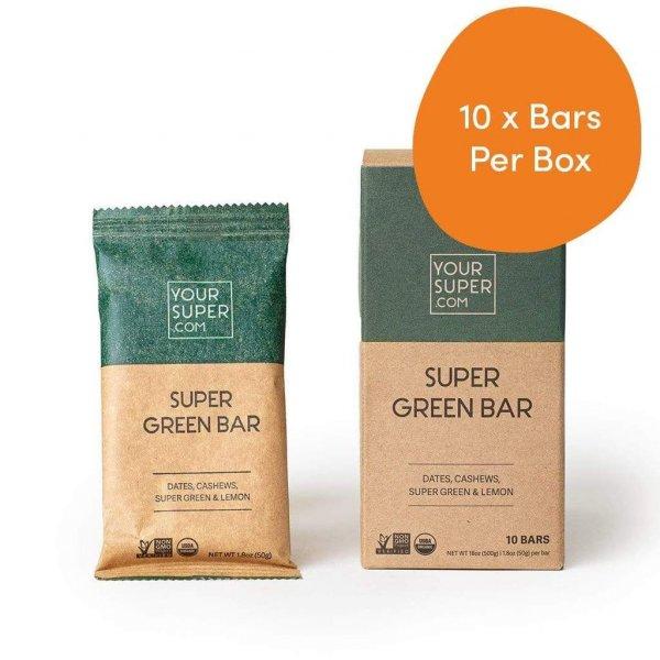 your super 10x super green bars your super bars