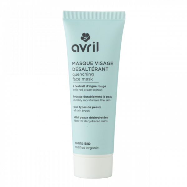 quenching face mask 50ml certified organic