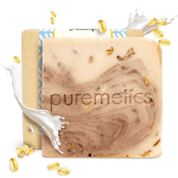 Puremetics Naturseifen HafermilchTonka 0