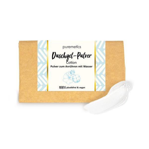 puremetics DuschgelPulver Cotton 00