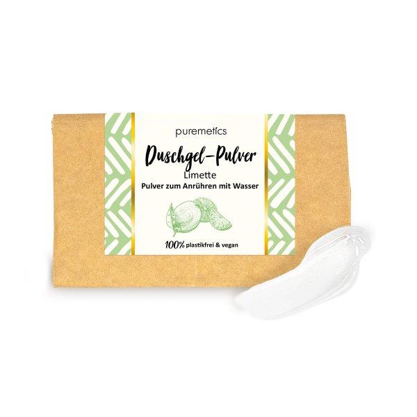 puremetics DuschgelPulver Limette 00