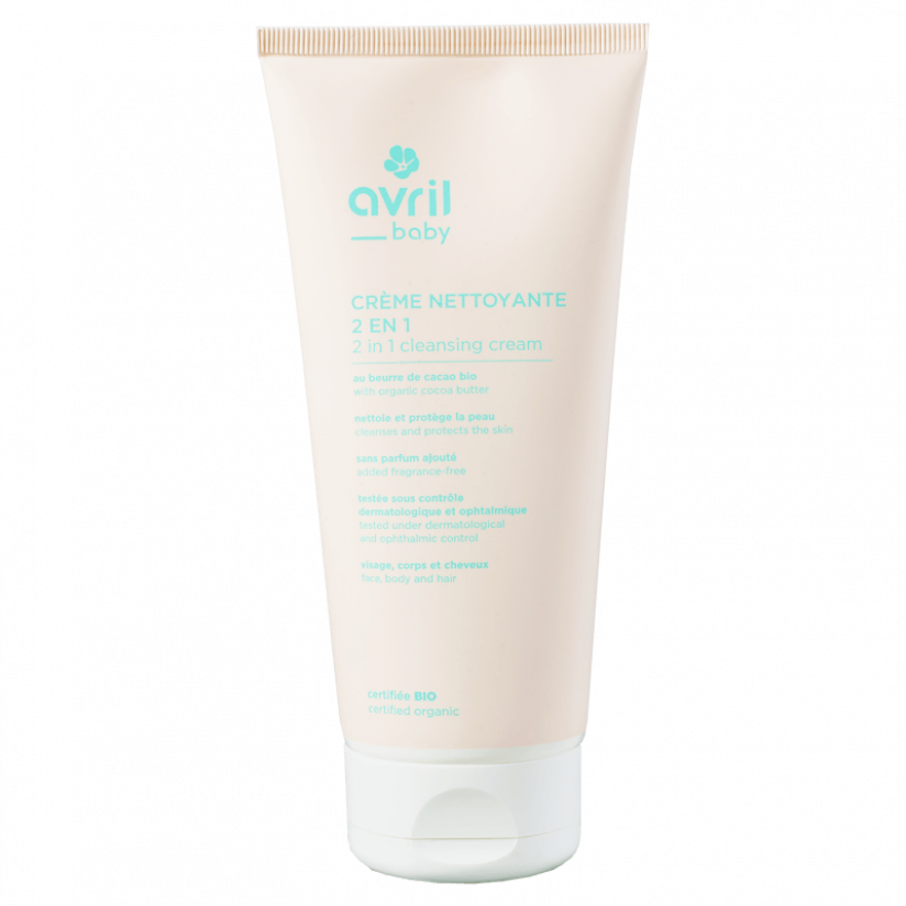 Baby cleansing cream
