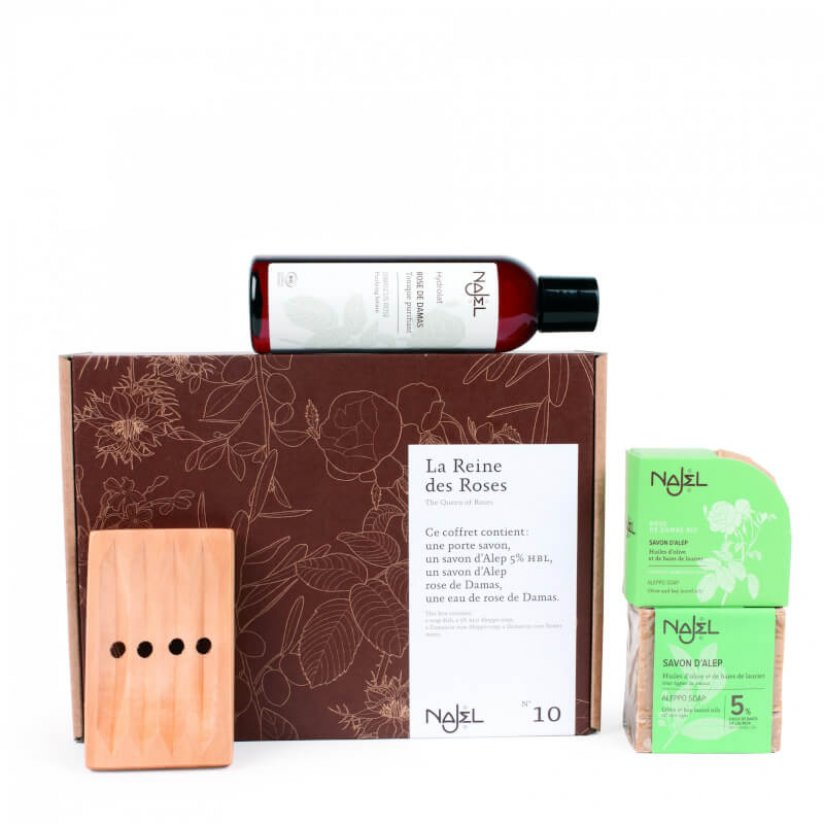 Damascus rose skin cares gift box