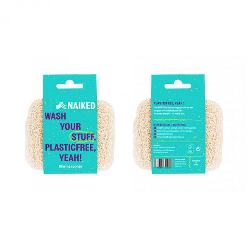 Rinsing sponge web