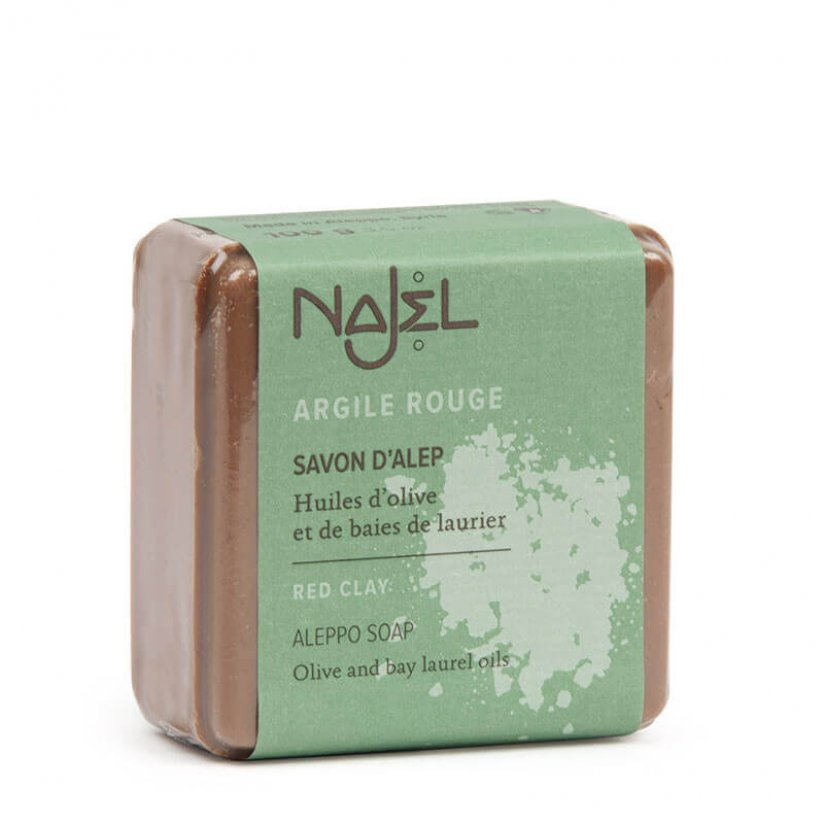 najel-savon-alep-argile-rouge-100g