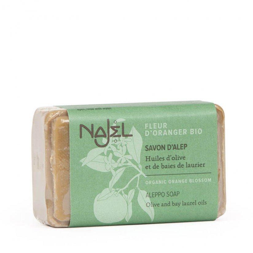 najel-savon-alep-fleur-oranger-bio-100g